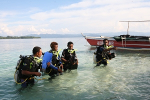 dive guides ahe harlem islands papua