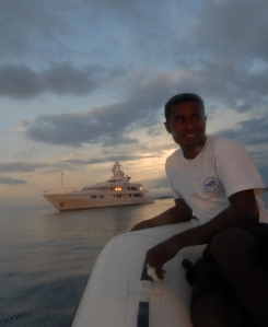 M/Y meduse at Ahe Dive Resort
